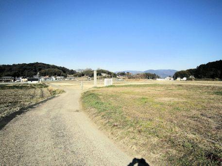 大官大寺塔跡と三輪山