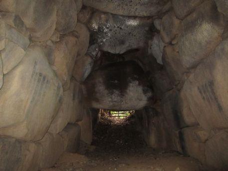 ウワナリ塚古墳の横穴式石室