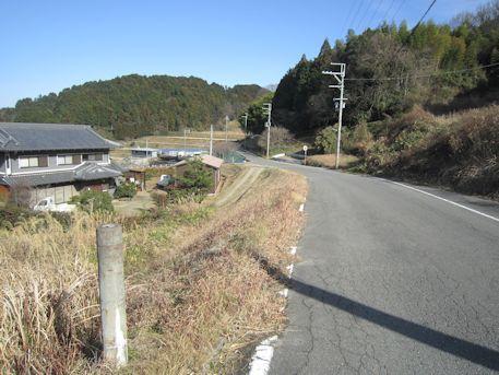 長瀬藪1号墳のアクセスルート