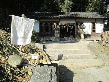 天岩戸神社の手水処