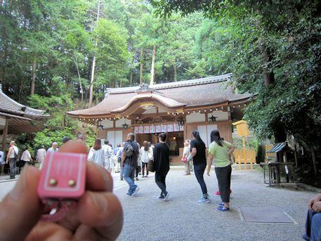 ランドセル守と狭井神社