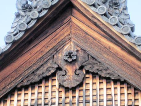西大寺愛染堂の懸魚