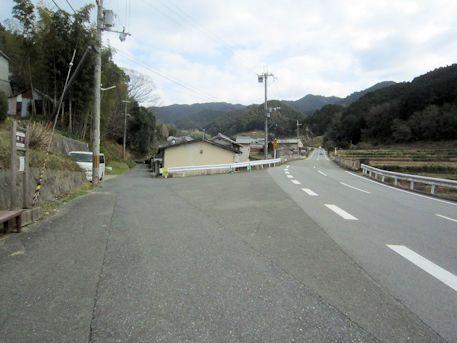 明日香村細川のバス停