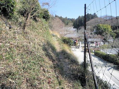 岡の立石のアクセスルート