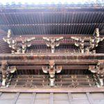 西大寺鐘楼の三手先組物