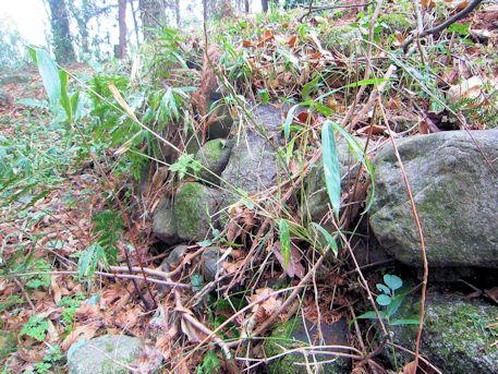 メスリ山古墳の方形土壇