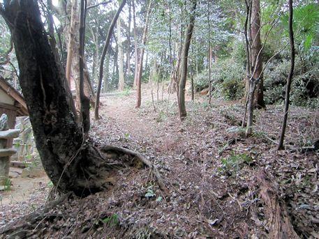 メスリ山古墳のアクセスルート
