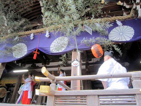 田作男と巫女