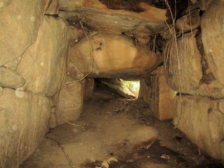 打上古墳の横穴式石室