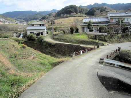 都塚古墳へのアクセス道