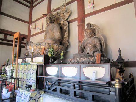 喜光寺本堂仏像群