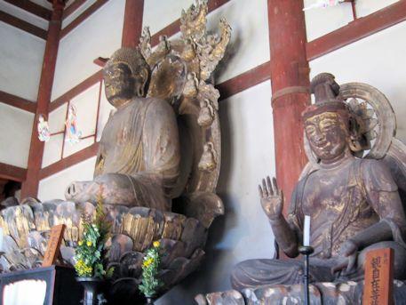喜光寺金堂仏像群