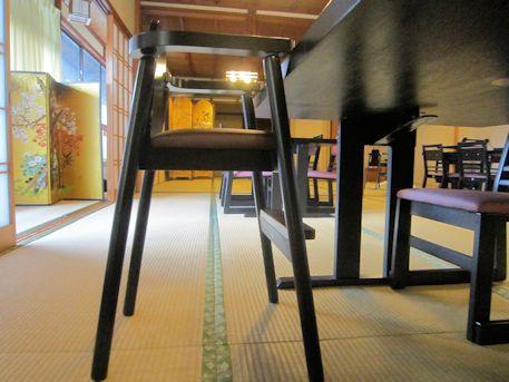 子供用椅子のシートハイ