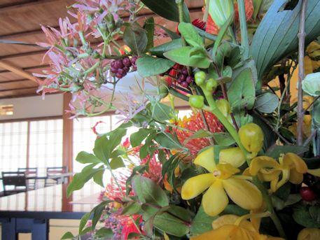 披露宴の会場装花
