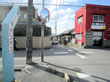 椚神社のアクセスルート