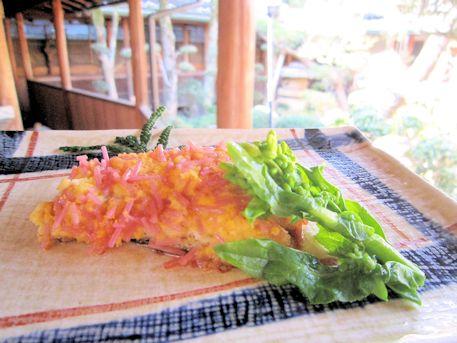 コショウ鯛の菜種焼き