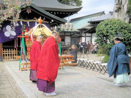 若宮神幸祭の祭典