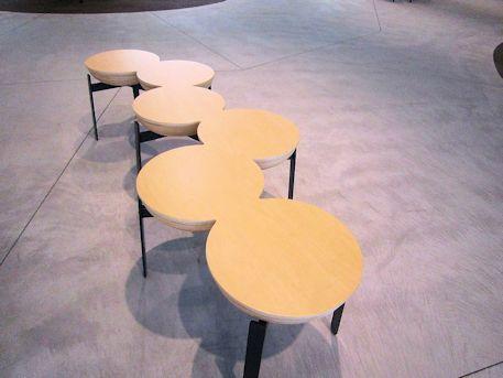 南団体待合所の椅子