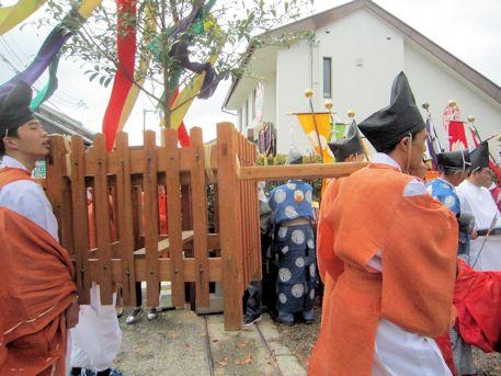 若宮神幸祭のお渡り
