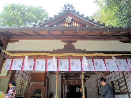 久延彦神社拝殿
