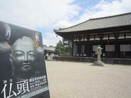 山田寺仏頭と興福寺東金堂