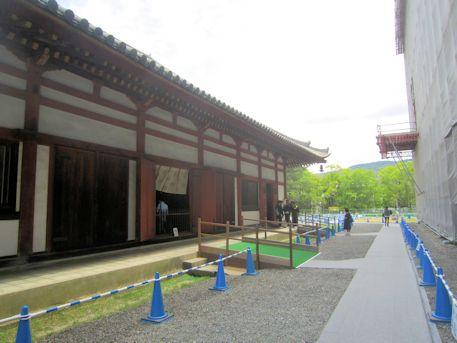 国宝特別公開中の興福寺仮講堂
