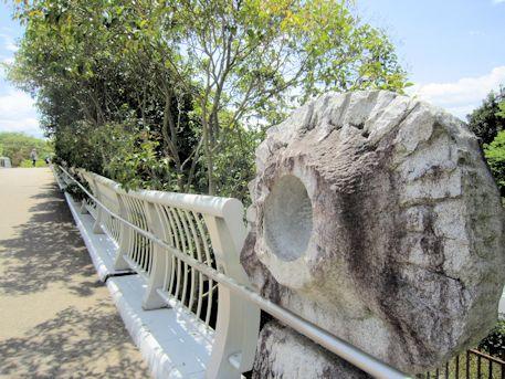 池上橋の通路