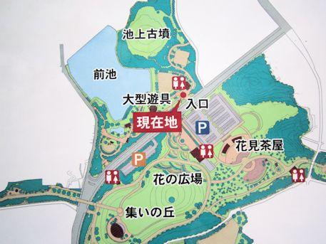 池上古墳周辺地図