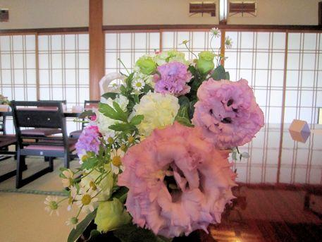 初夏の高砂装花