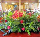 高砂席卓上装花