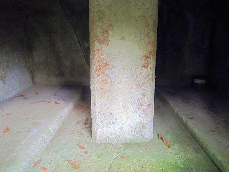牽牛子塚古墳の横口式石槨