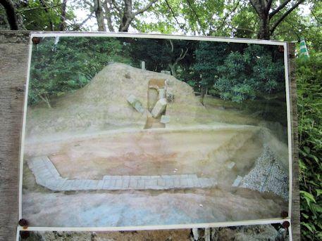 牽牛子塚古墳の写真