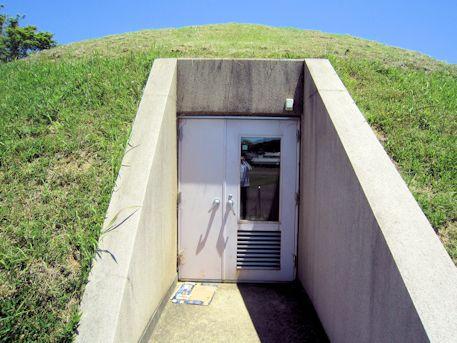 市尾墓山古墳の石室