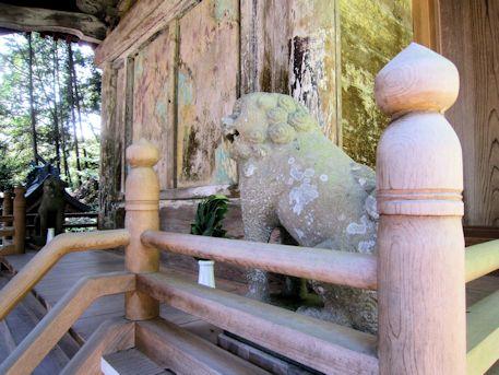 川合八幡神社本殿
