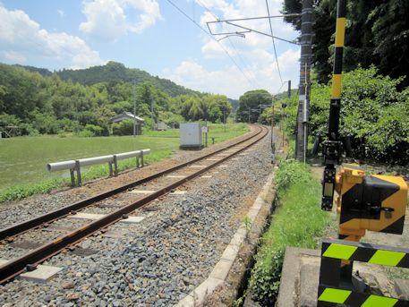 JR和歌山線の線路