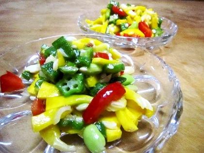 コリンキーの塩麹サラダ