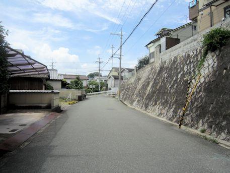 烏土塚古墳のアクセスルート