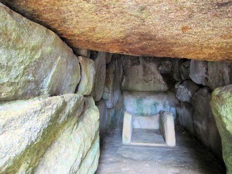 烏土塚古墳の組合式石棺