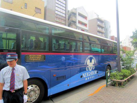 東京ディズニーリゾート・グッドネイバーホテル・シャトル