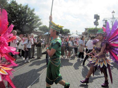 東京ディズニーシーのパレード