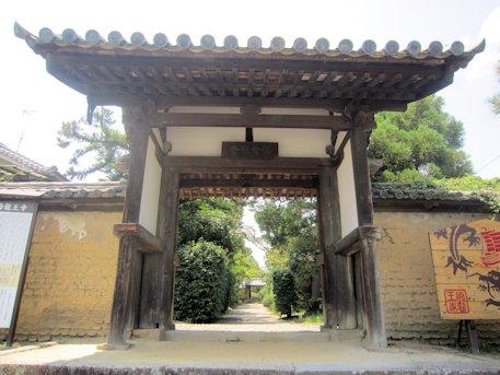 海龍王寺山門