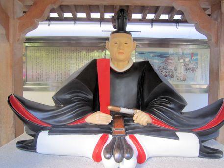 吉良上野介義央座像