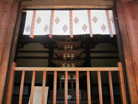 海龍王寺五重小塔