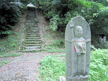 増賀上人墓アクセスルート