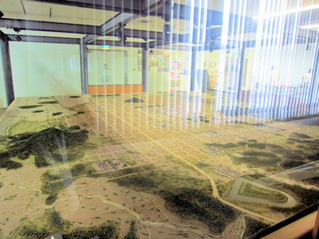 藤原京資料室縮小模型