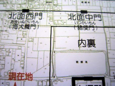 藤原宮跡の地図