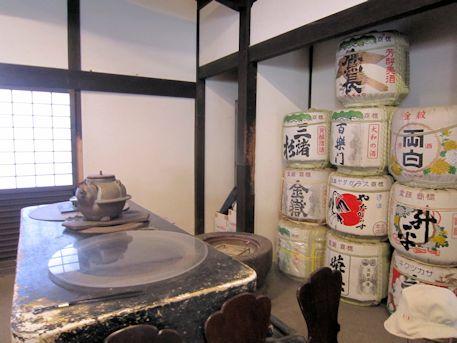 正暦寺の酒樽