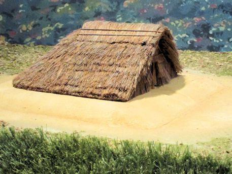 竪穴式の家