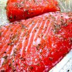 鮭とディル