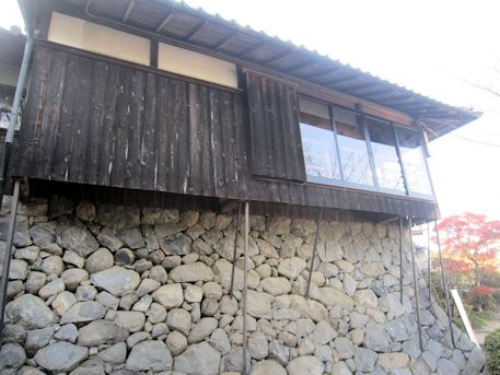 聖林寺の石垣
